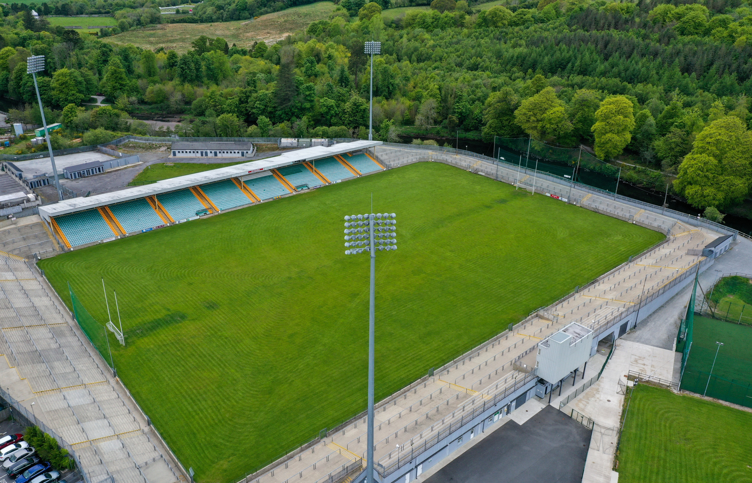 Information for supporters at this evening's Ulster Minor Football Championship fixture