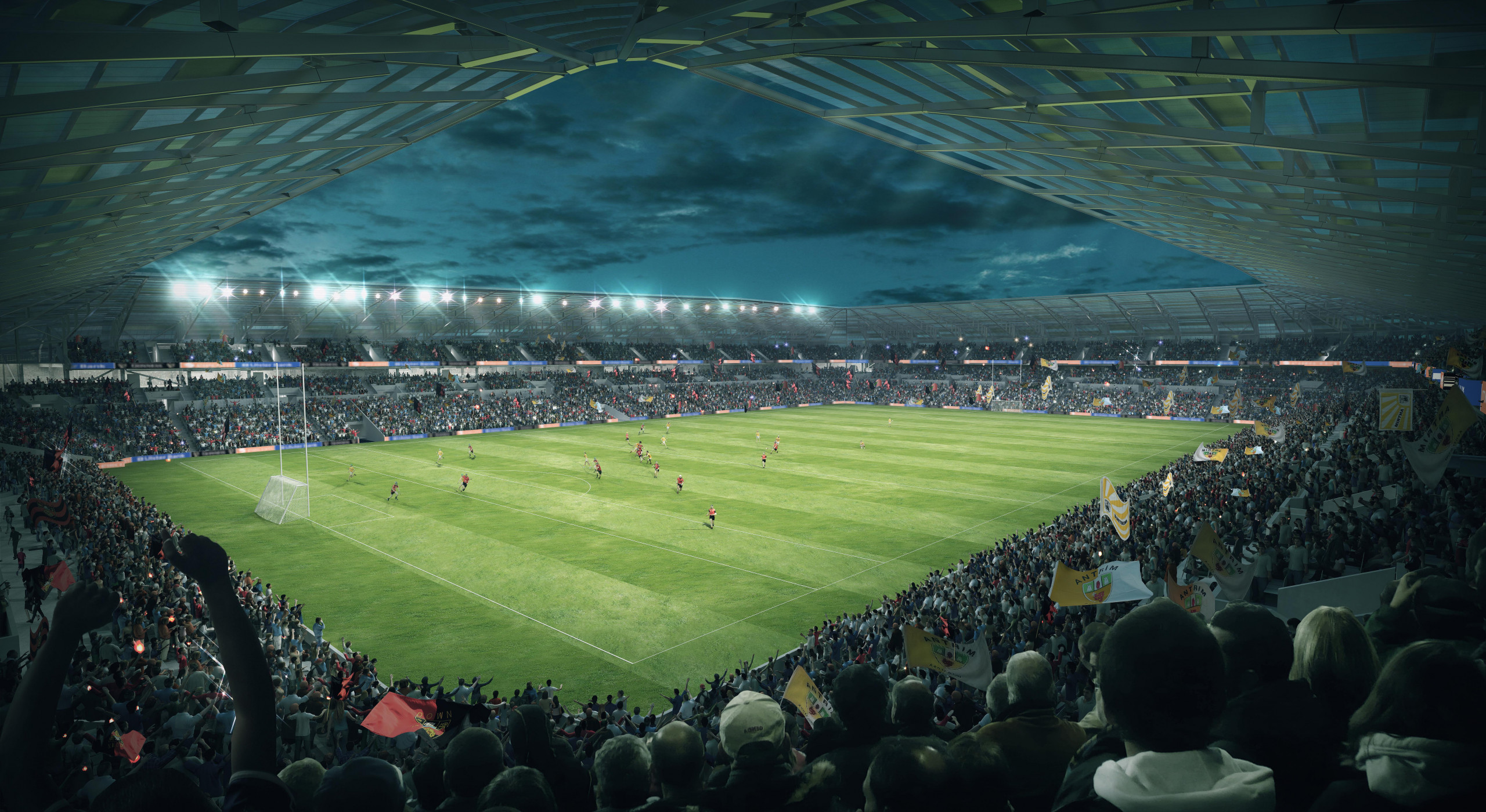 Momentous occasion for Gaels following Casement Park planning confirmation