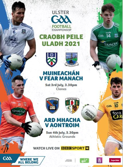 Download for free this weekend's Ulster Senior Football Championship Quarter-Final programme