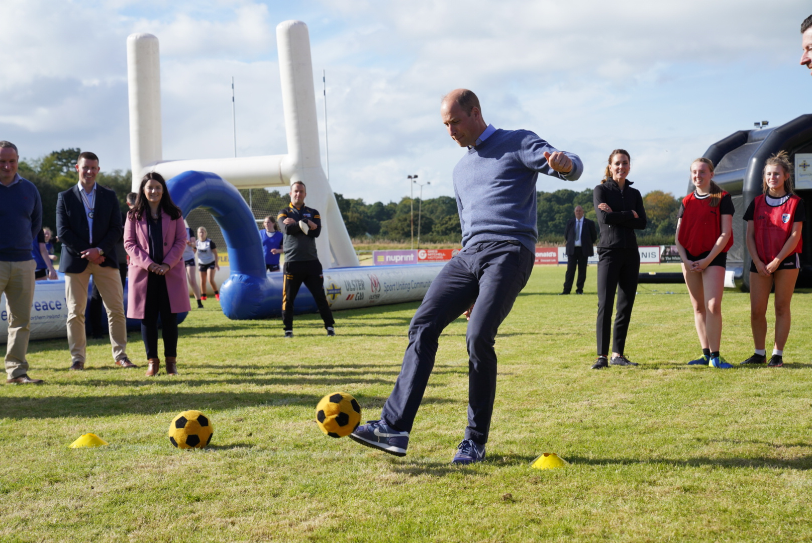 Sport Uniting Communities part of Royal visit